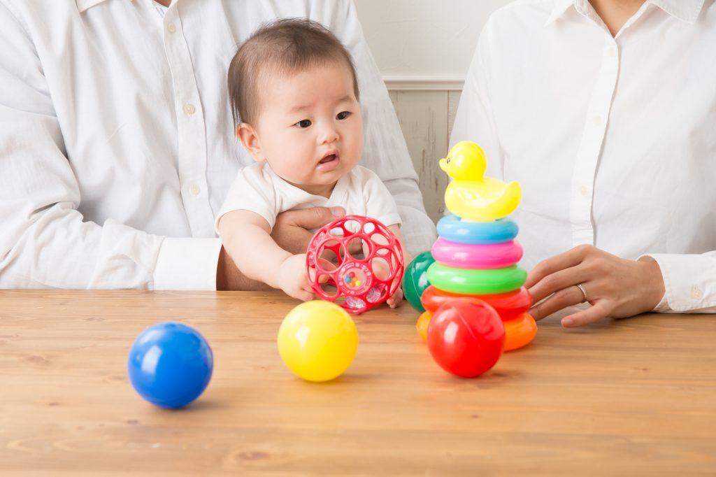 子供と知育おもちゃ