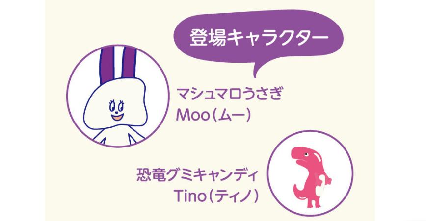 Goomiesのキャラクター