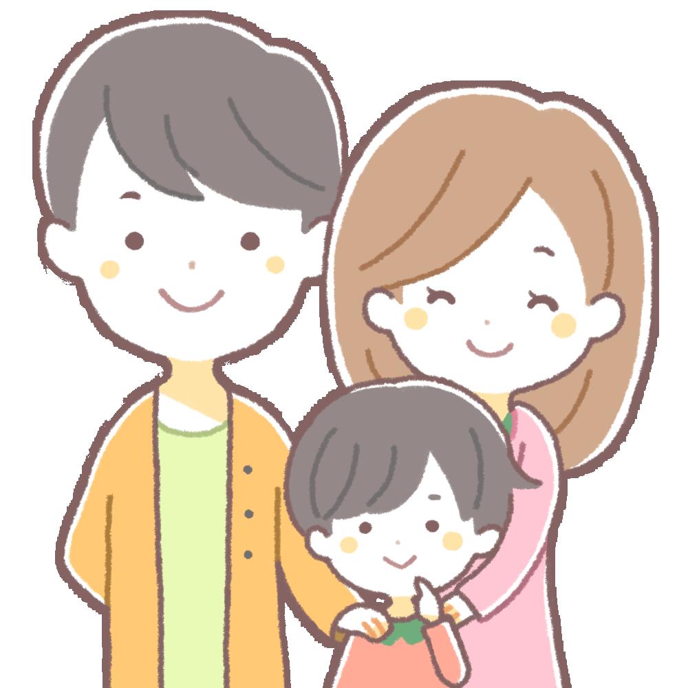 管理人の家族写真のイメージ