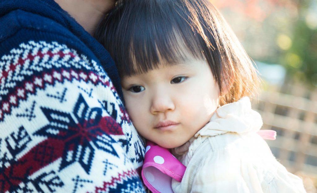 2歳くらいの女の子